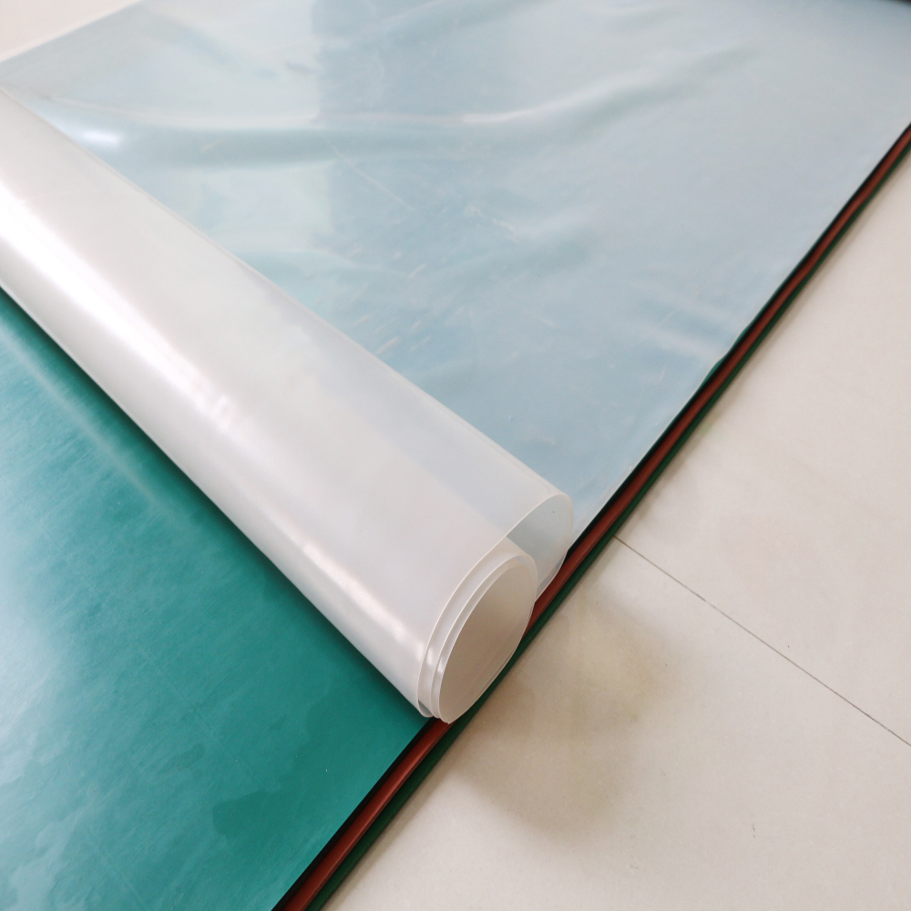 high quality with competitive price Silicone rubber sheet high temperature resistant