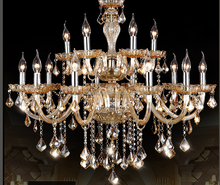 led amber lamps chandeliers lights crystal guangzhou