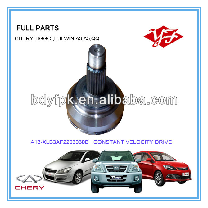 A13-XLB3AF2203030B Chery Fulwin outer CV joint