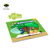 4D AR Painting Color Augmented Reality Education Toy For Children