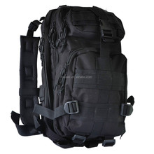 Black Camping Hiking Trekking Bag Outdoor Military Tactical Backpack