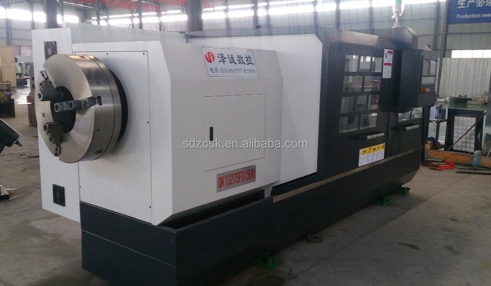 pipe thread cutting machine QK1320 with CNC control system used for large pipe