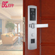 Keyless Scanner smart card biometric door lock with wifi Silver Gold Red bronze