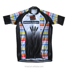 Custom accepted sample order cycling jersey professional team race cut cycling shirts with different material
