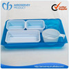 Clear PET plastic food grade plastic pet food container