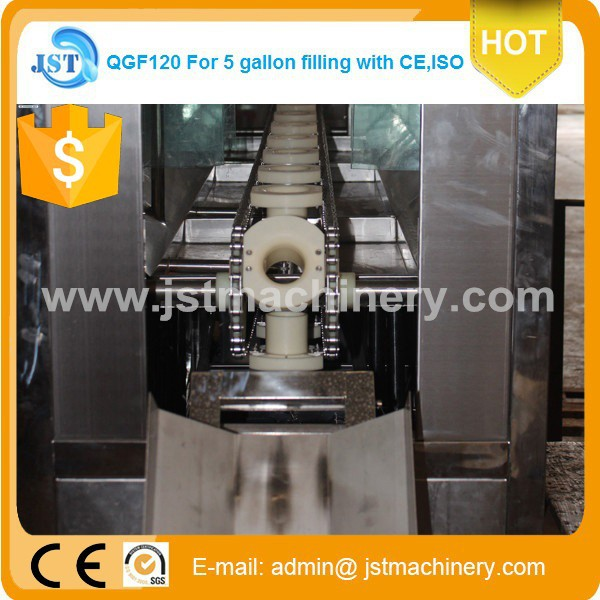 600bph automatic 5 gallon water filling machine for Ukraine