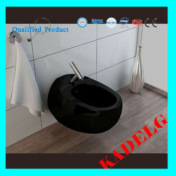 Round White High Quality Easy Bidet Toilet