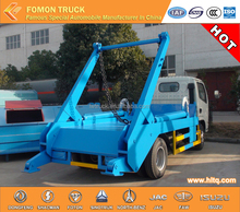 4cbm 3cbm arm roll container refuse truck swing arm underground container garbage truck
