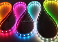 led strip lights kit waterproof rgb ws2812 led strip dream color dmx strip lighting