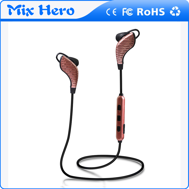 Custom design built in mircophone stereo bluetooth headset