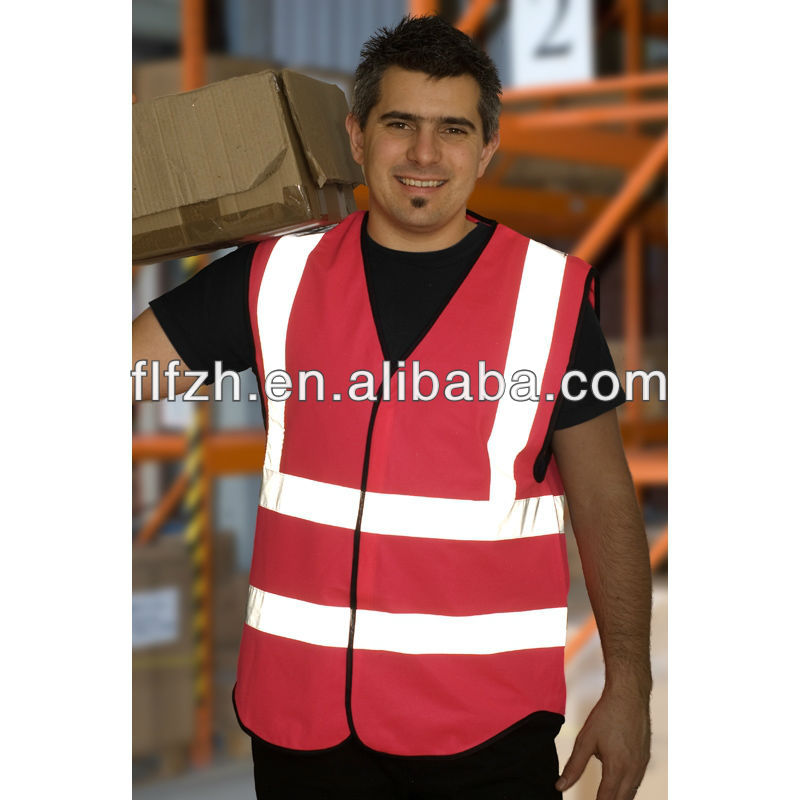 Adult high visibility motorbike vests