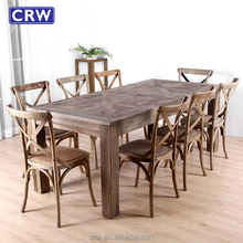 Elm Wood Restaurant Tables Furniture Antique Dining Table