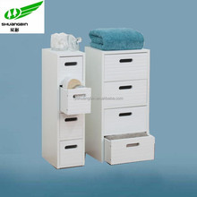 Knock down office four drawer vertical filing cabinet/utility cabinet/stainless steel hospital cabinet