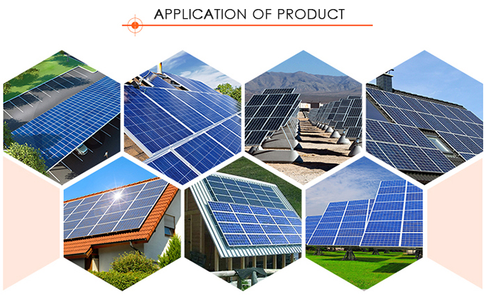 CE TUV certificated Portable Solar Panel Standard 310W Mono Portable Solar Panel