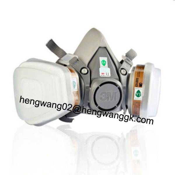 3M half mask Gas Mask /respiratory protection/industrial face gas masks 3M 7502 and 3M 6200