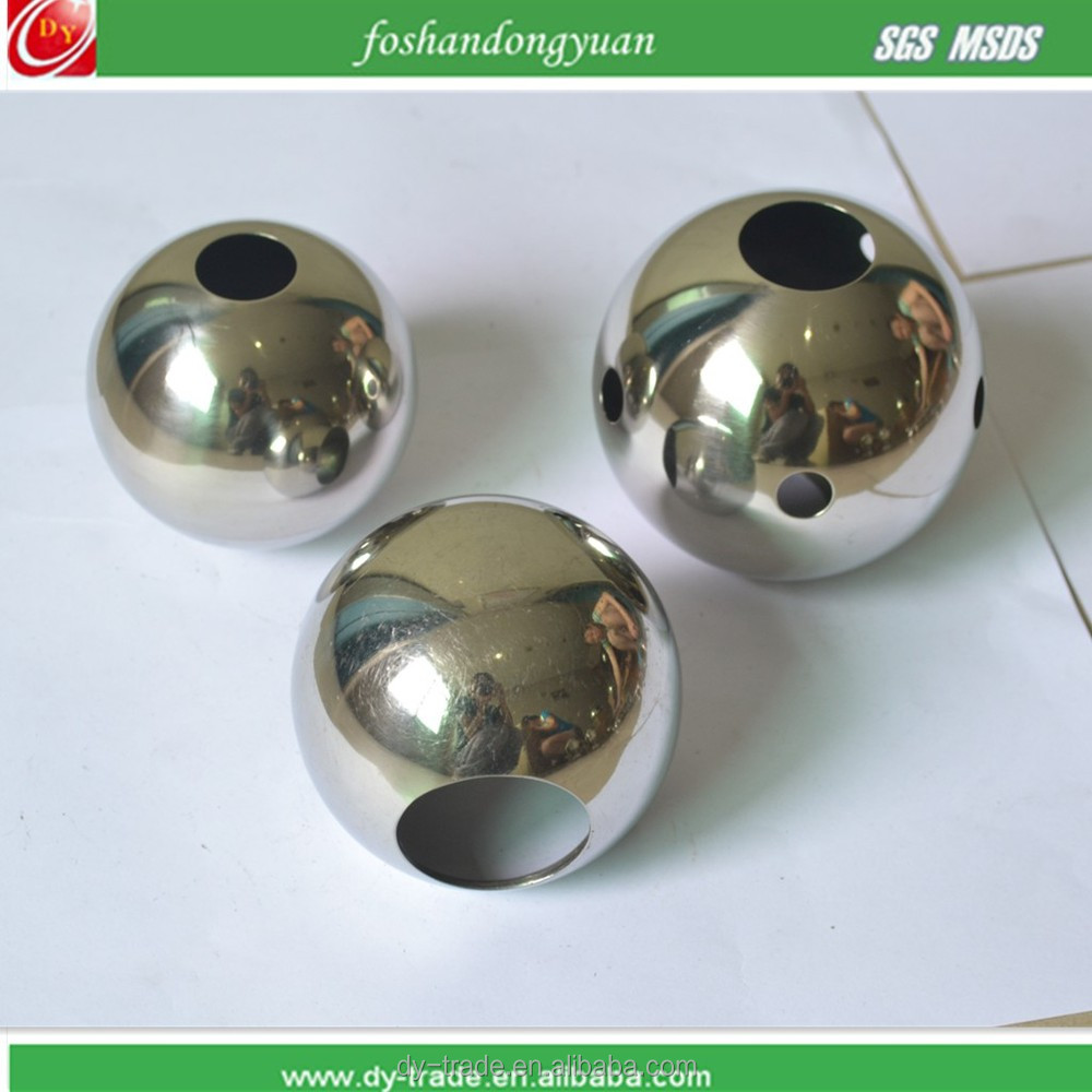 "AISI304 316 Factory Price Drilled Hole 2"" Stainless Steel Ball"