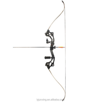 F163 bow and arrow set for outdoor hunting and fishing archery bow