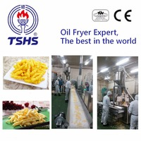 2016 Taiwan Industrial Automatic Corn Puffed Frying Machinery