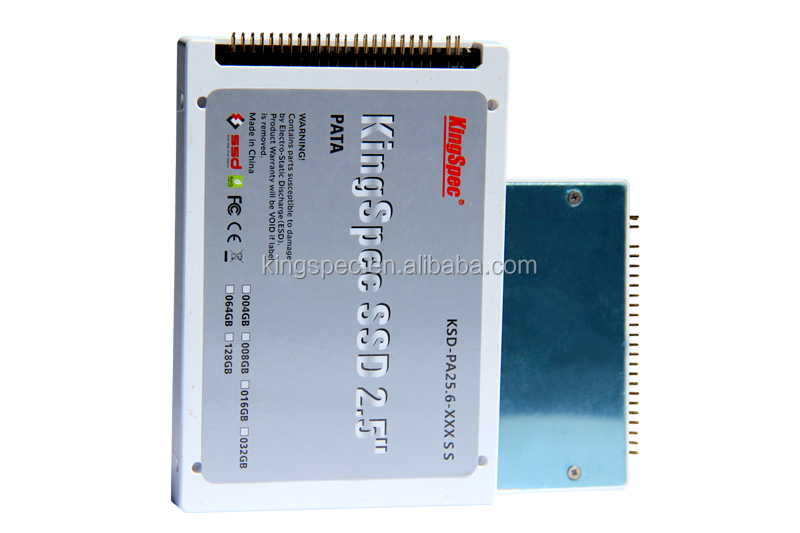 KingSpec IDE SSD hard drive PATA interface 64gb 2.5 inch IDE PATA SSD for laptop