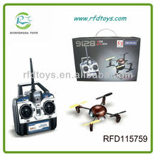 2013 New UFO Indoor&Outdoor Fly RFD115759 4CH 2.4G Rolling Stunt RC 4-axis Quadcopter
