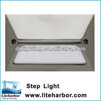 "5"" 1.5w dimmable 12v stainless steel light with motion detector for sale"