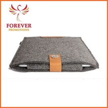 Digital Products Accessory Grey Felt Laptop Sleeve Case Chinese Factory