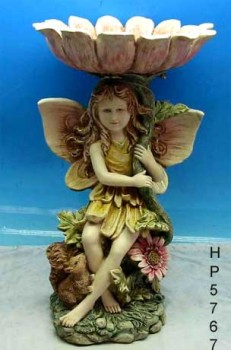 Poly resin Fairy statue
