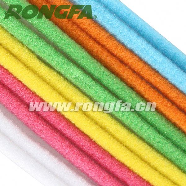9mm x 50cm kids educational toys colorful chenille wire stems