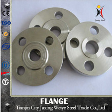 hinged flange and weld neck flange