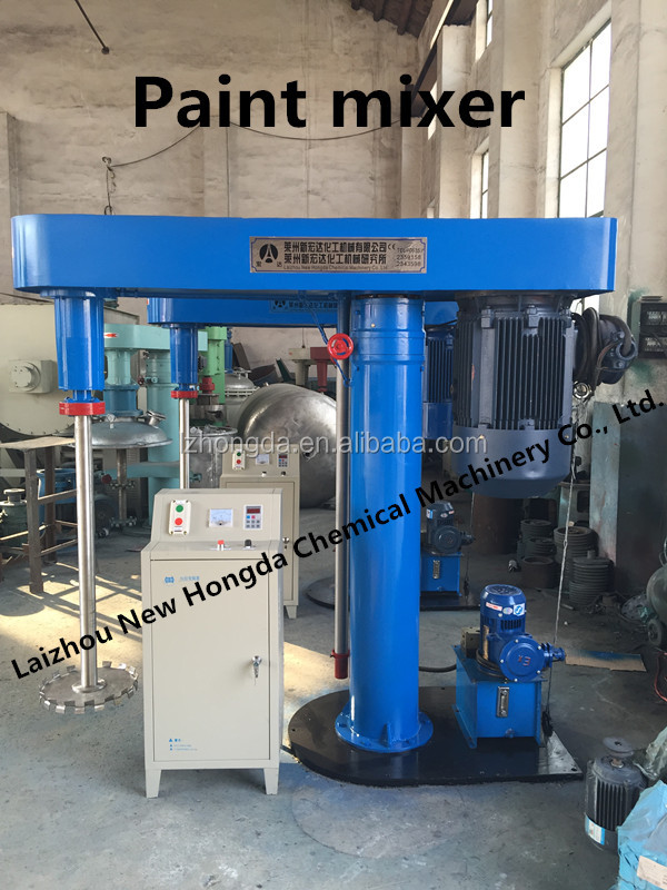 Dispersing type and new condition paint high speed best machine