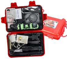 Hot sell camping emergency military tactical outdoor survival tool kit