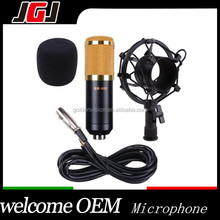 JGJ OEM High Quality BM 800 Microphone Shock Mount Audio Cable Anti-wind Foam Cap Sound Record Music Studio