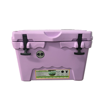 Purple rotomolded insulation plastic ice cream chest cooler beer storage cooler box and car cooler