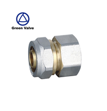 Gutentop Customized Brass 10mm Compression Tube Fitting, Adapter, Female Tube Fittings