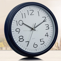 "11"" plastic wall clock"
