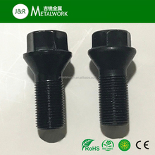 GS Carbon Steel Black Oxide Wheel Bolt And Nut