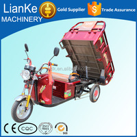high quality hot sales 48v/500w/800w/1000w electric rickshaw/taxi tricycle cargo for passenger