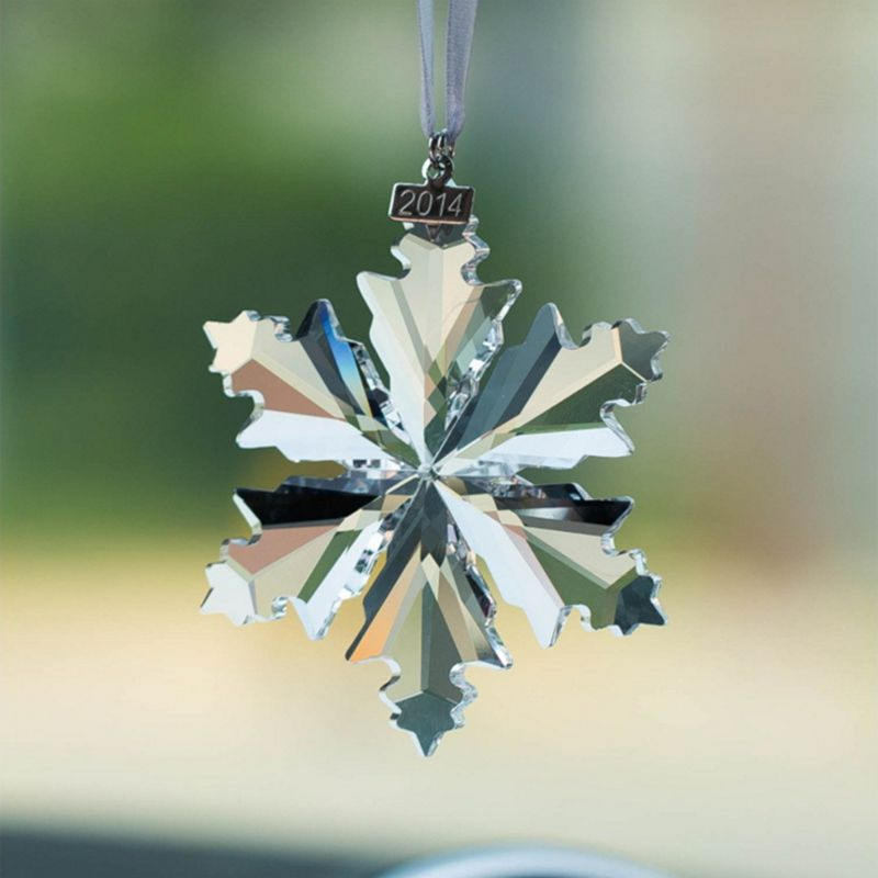 High Quality Exquisite Crystal Snowflake Christmas Ornaments For Hanging Decoration