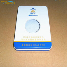 High Quality mobile phone case metal packaging tin box for generic phone box with pvc window