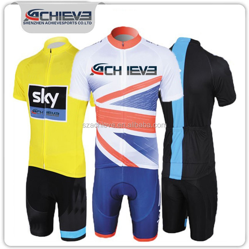 2016 custom hot sales biking polyester jersey