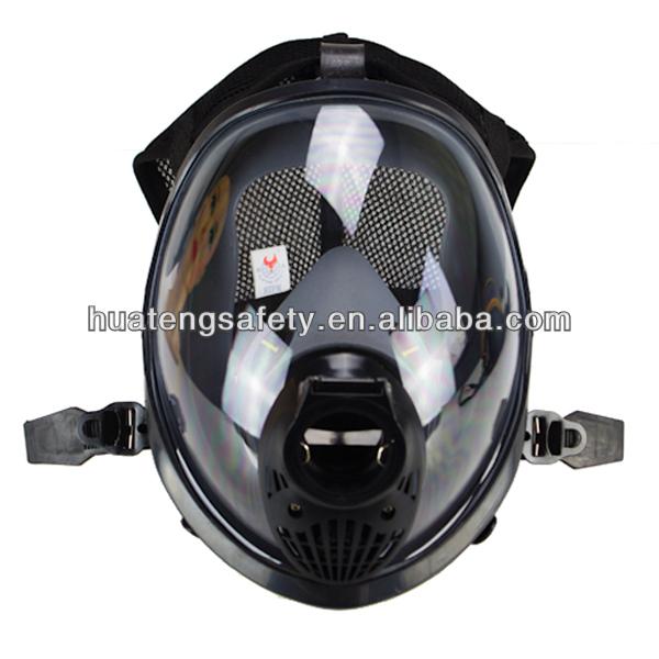 SCBA face shield respirator for Air Breathing Apparatus