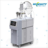 Facial high flow skin liquid oxygen therapy