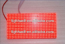 1/4 scan hot products message sign p10 led display module red