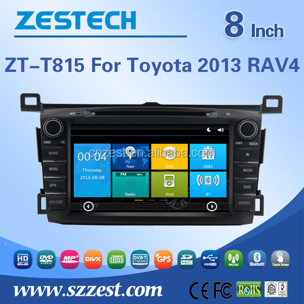 Car multimedia system for Toyota RAV4 2013 Car DVD Gps Navigation with CANBUS apply to all motorcycle types' agreement