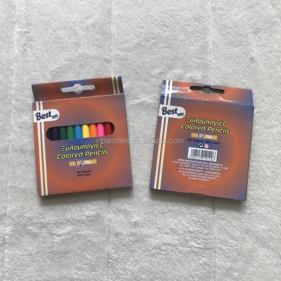 For promotional colored pencil set