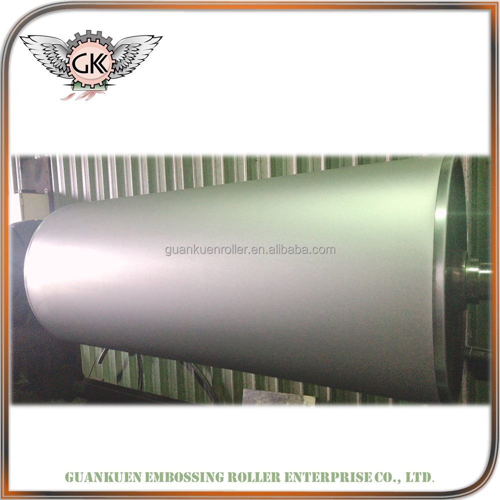 high quality steel embossing roller for folder making machine