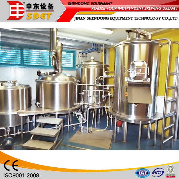 100L-500L Microbrewery, Electric Brewing system, Used Brewery Equipment for Sale