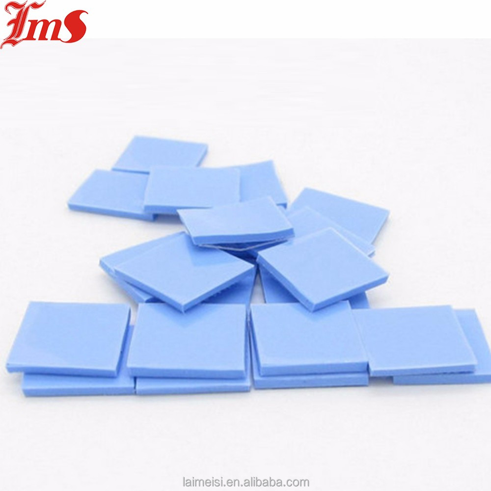 Shenzhen Laimeisi Silicone Conductivity Thermal Pad For LED Heat transfer