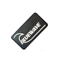 Hot sale PVC injection embossed rubber badge soft label patch