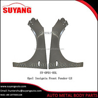 Replacement Steel Front Fender Auto Parts For Opel Astra J